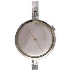 Vivianna Torun Bülow-Hübe for Georg Jensen, a Ladies Bangle Wristwatch