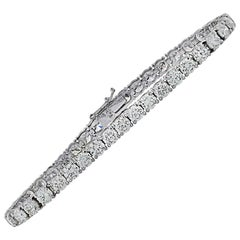 Vivid Diamonds 10.51 Carat Diamond Tennis Bracelet