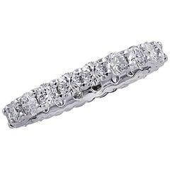 Vivid Diamonds 1.75 Carat Eternity Band