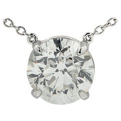 Vivid Diamonds 2 Carat Diamond Necklace