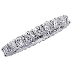 Vivid Diamonds 2.16 Carat Diamond Eternity Band