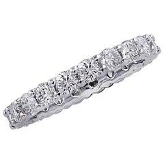 Vivid Diamonds 2.16 Carat Diamond Eternity Band