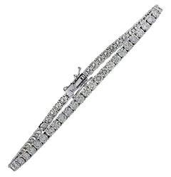 Vivid Diamonds 3.08 Carat Diamond Tennis Bracelet