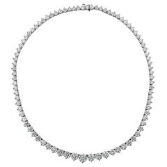 Vivid Diamonds 37.03 Carat Diamond Riviera Necklace