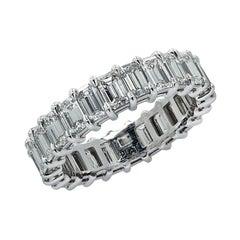 Vivid Diamonds 3.77 Carat Diamond Eternity Band