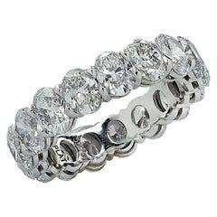 Vivid Diamonds 5.37 Carat Diamond Eternity Band