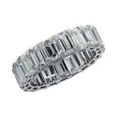 Vivid Diamonds 6.38 Carat Diamond Eternity Band