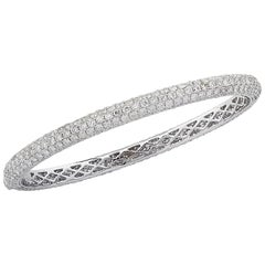Vivid Diamonds 9.85 Bangle Bracelet