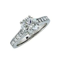 Vivid Diamonds GIA Certified 1.16 Carat Diamond Ring