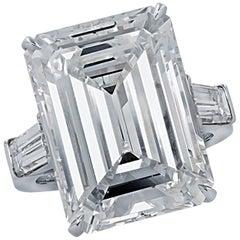 Vivid Diamonds GIA Certified 17.02 Carat Diamond Engagement Ring