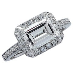 Vivid Diamonds GIA Certified 1.86 Carat Diamond Engagement Ring