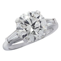 Vivid Diamonds GIA Certified 3.92 Carat Diamond Engagement Ring