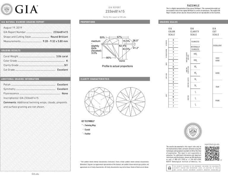 Modern Vivid Diamonds GIA Certified 6.10 Carat Diamond Stud Earrings