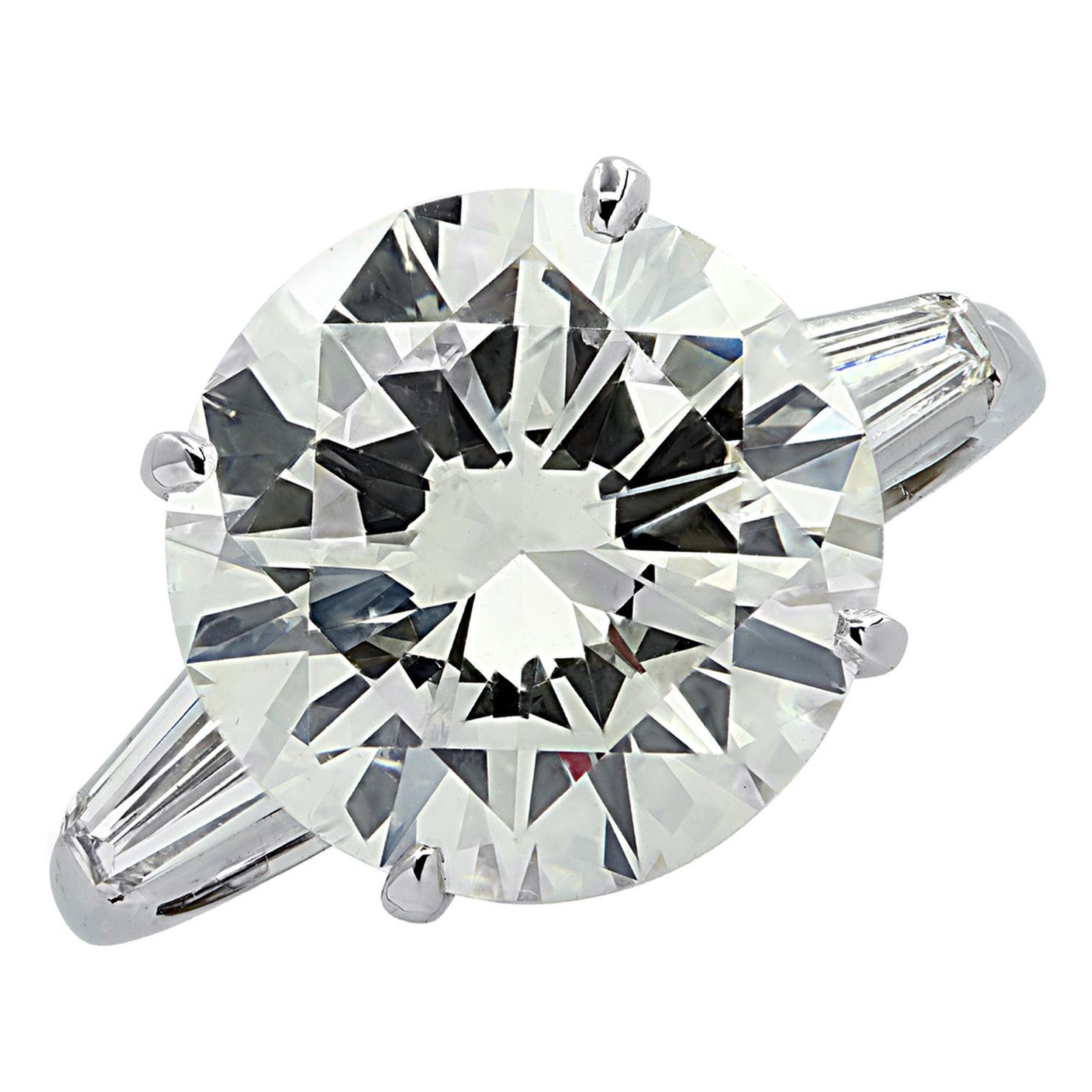 Vivid Diamonds GIA Certified 7.81 Carat Diamond Engagement Ring