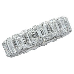 Vivid Diamonds GIA Certified 9.03 Carat Diamond Eternity Band