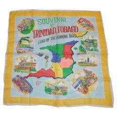 """""""Vivid Souvenir of Trinidad & Tobago"""" Scarf"""