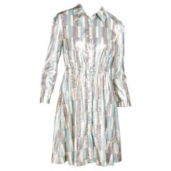 Vivienne Hu Multicolor Sequined Shirtdress