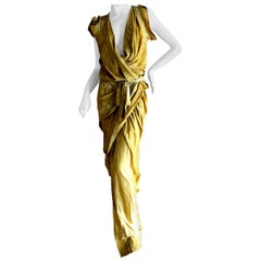 Vivienne Westwood 2012 Gold Label Draped Goddess Dress New with Tags