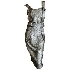 Vivienne Westwood Anglomania 2011 Glittery Silver Cocktail Dress