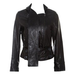 Vivienne Westwood Anglomania Black Leather Jacket M