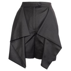 Vivienne Westwood Anglomania Front Drape Panel Skort Shorts