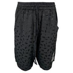 VIVIENNE WESTWOOD Anglomania Size XS Black Viscose Elastic Waistband Shorts