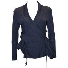 Vivienne Westwood Anglomania Wrap Around Jacket
