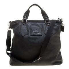 Vivienne Westwood Black Leather Tote