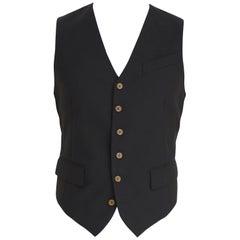 Vivienne Westwood black wool vest