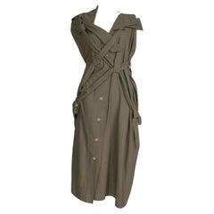 Vivienne Westwood - 'Bondage' Dress - Strap & Tie Details - Asymmetric Shoulder