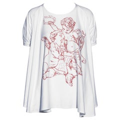 Vivienne Westwood cherub print wide cut t-shirt, ss 1991