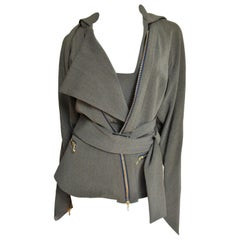 Vivienne Westwood Convertible Jacket Cape with Straps