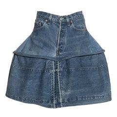 Vivienne Westwood denim 'Mini-Crini' skirt, ss 1985