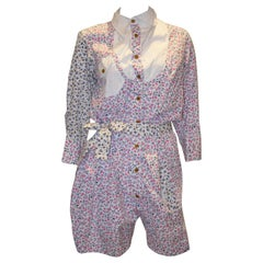 Vivienne Westwood Floral Cotton Playsuit
