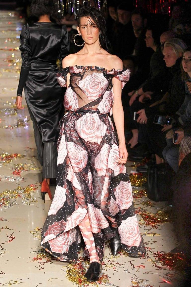 Vivienne Westwood Gold Label Glenn Dress with Rose Print, A / W 2015  For Sale 4