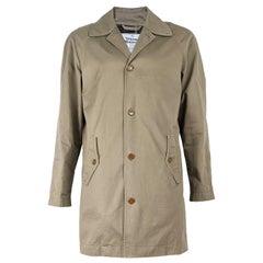 Vivienne Westwood Mens Raglan Sleeve Mac Trench Coat