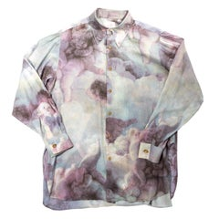 Vivienne Westwood oversized cotton Cherubs blouse, fw 1991