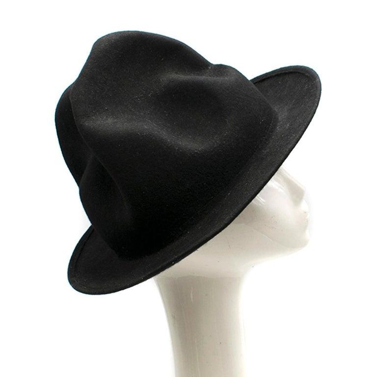Black Vivienne Westwood Pharrell Williams Mountain hat For Sale
