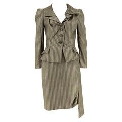 Vivienne Westwood Pinstriped Suit