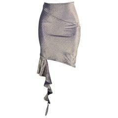 Vivienne Westwood Red Label Vintage Avant Garde Zipper Party Skirt, 1990s