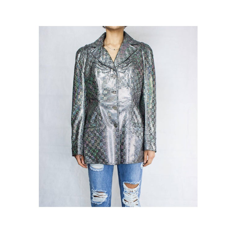 Westwood has designed clothes outrageously flamboyant. They are beautiful, and often unconventional.  This jacket echoes early twentieth century military wear. It shows the designer's innovative take on traditional tailoring and use of