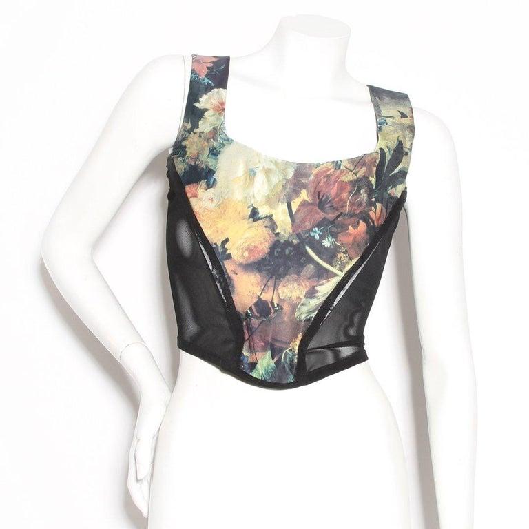Gray Vivienne Westwood 'Vive La Cocotte' Corset For Sale