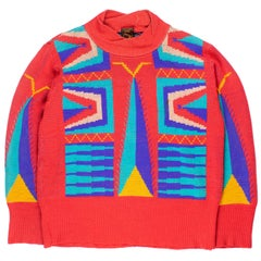 """Vivienne Westwood Worlds End SS1982 """"Savages"""" Sweater"""