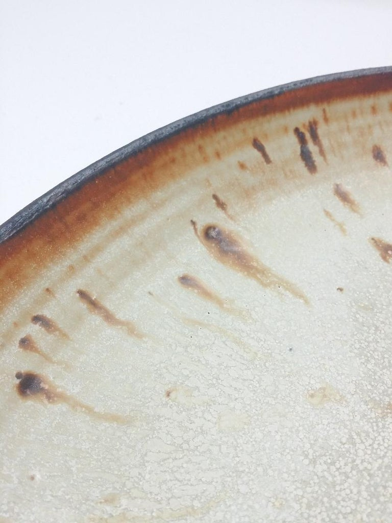 Mid-Century Modern Vivika and Otto Heino Studio Pottery Charger For Sale
