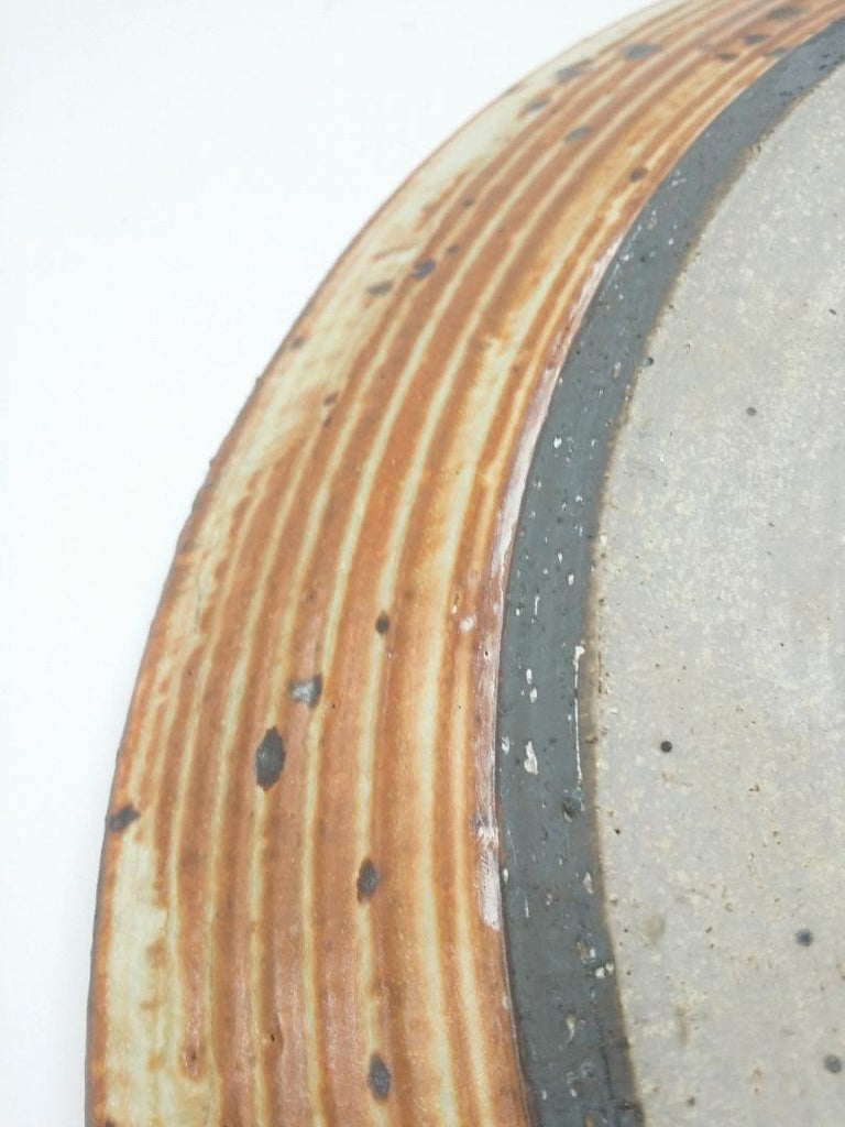 20th Century Vivika and Otto Heino Studio Pottery Charger For Sale