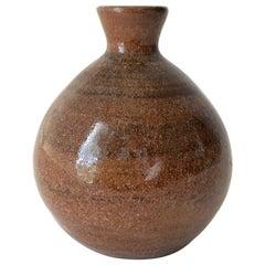 Vivika Otto Heino California Studio Pottery Small Weed Bud Vase