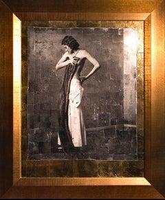 """Renata avec boa"" from the famous ""Sensuality"" Series by Vladimir Clavijo"