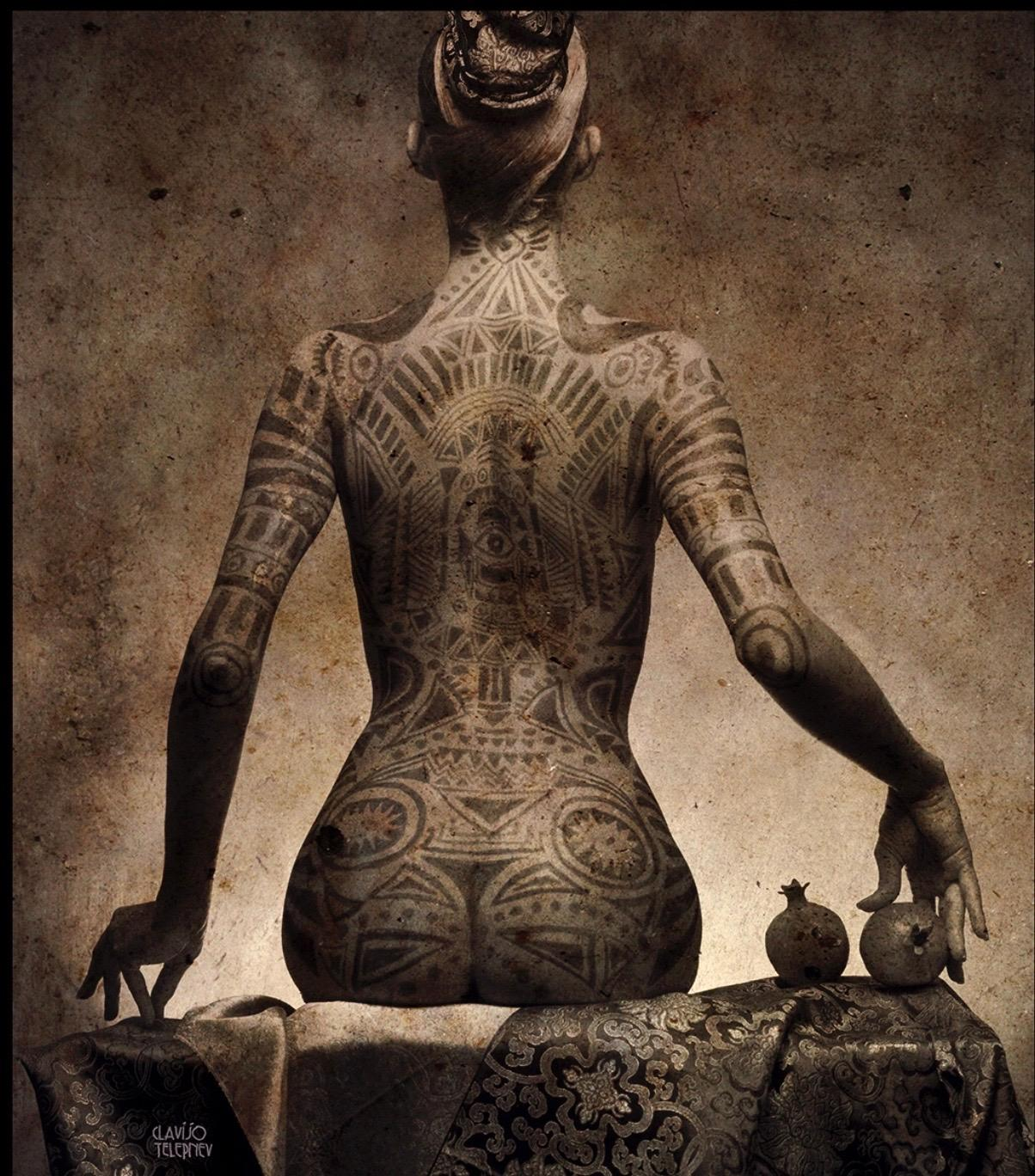 """""""Tattoo"""" from the famous """"Sensuality"""" Series by Vladimir Clavijo"""