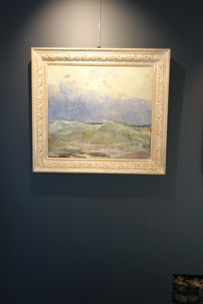 Sea, Waves,Blue,Light blue,20th,Impressionist,Water