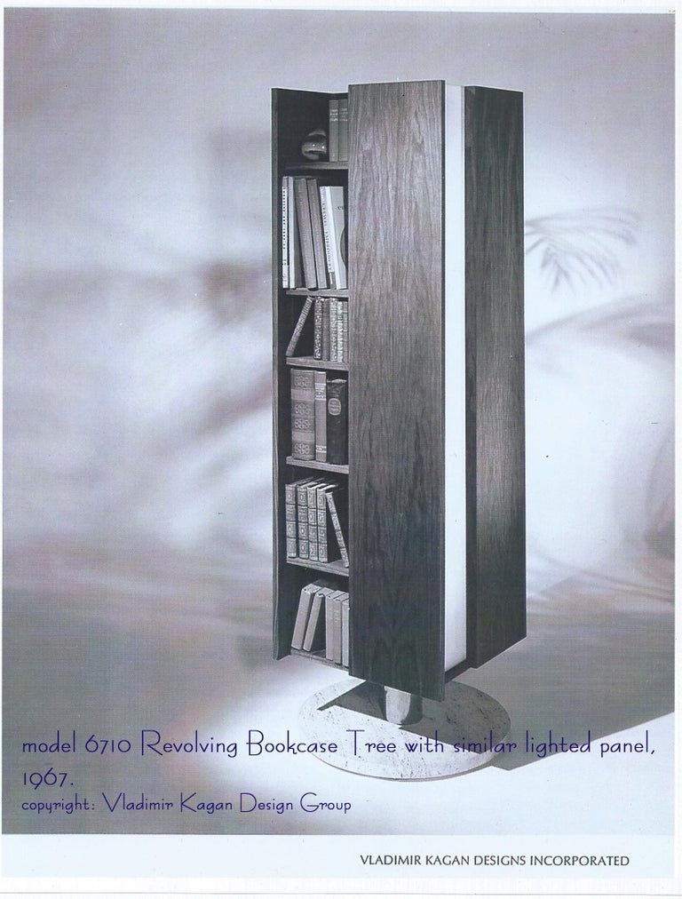 Vladimir Kagan Architectural Louvered & Illuminated Room Divider with COA, 1967 For Sale 2